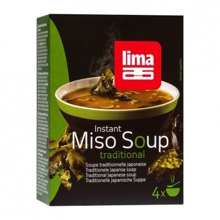 2 x Lima pulver miso-suppe