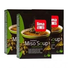 Lima, Soupe miso instantanée