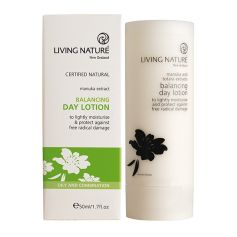 Living Nature Balancing Day Lotion Ausgleichende Tagescreme