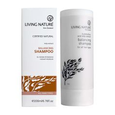 Living Nature, Balancing shampoo - shampoing régulateur