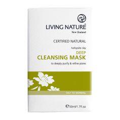 Living Nature Deep Cleansing Mask Masque nettoyant en profondeur