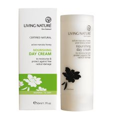 Living Nature Nourishing Day Cream Nährende Tagescreme