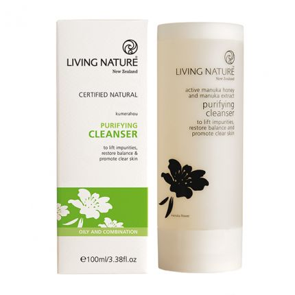 Living Nature Purifying Cleanser Klärendes Reinigungsgel