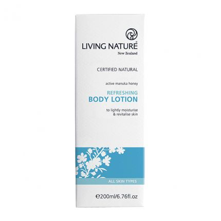 Living Nature Refreshing Body Lotion Erfrischende Körperlotion