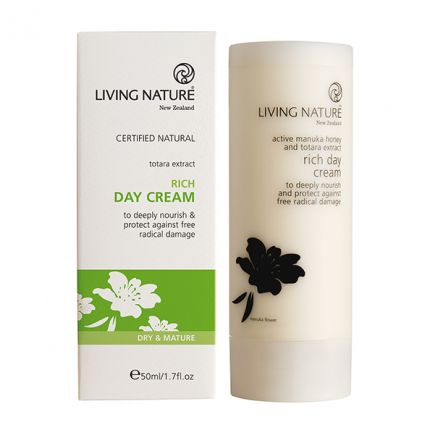 Living Nature Rich Day Cream Reichhaltige Tagescreme