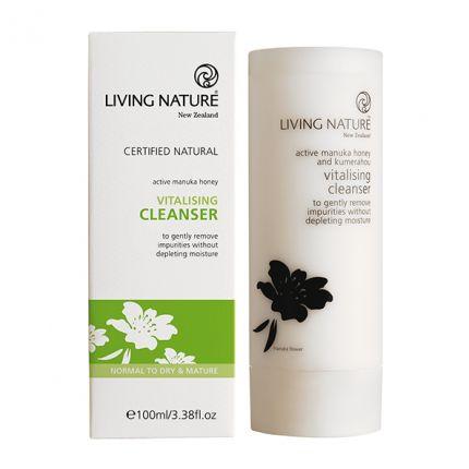 Living Nature Vitalising Cleanser Vitalisierende Reinigungsmilch