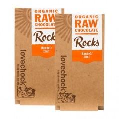 2 x Lovechock Rocks Mandel / Zimt