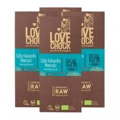 4 x Lovechock Bio-Tablets Blaubeere & Hanfsaat