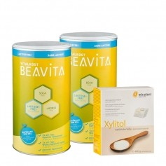 BEAVITA Kaloriensparset: Vitalkost Doppelpack + Xylitol