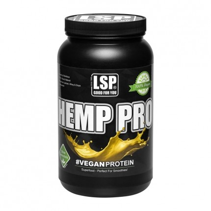 LSP Sports Hemp Protein, Pulver