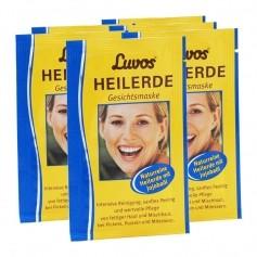6 x Luvos Heilerde Gesichtsmaske