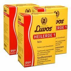 3 x Luvos Heilerde 1 fein, Pulver