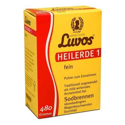 Luvos Heilerde 1 fein, Pulver