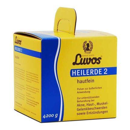 Luvos Heilerde 2 hautfein, Pulver