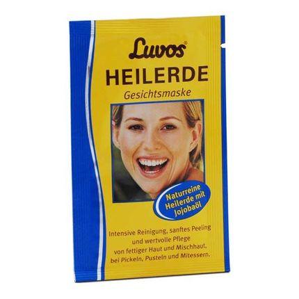 5 x Luvos Heilerde Gesichtsmaske