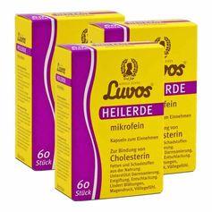 3 x Luvos Heilerde mikrofein, Kapseln