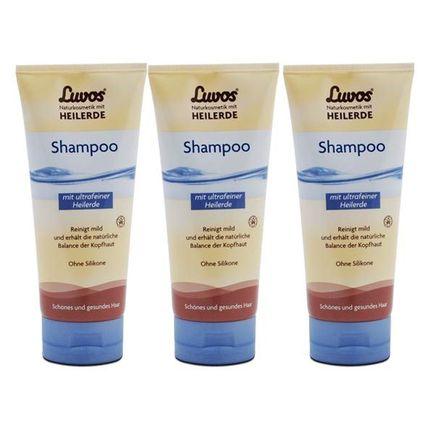 Luvos Naturkosmetik Shampoo (3 x 200 ml)