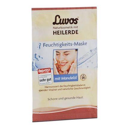 5 x Luvos Naturkosmetik Feuchtigkeits-Maske