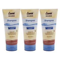 3 x Luvos Naturkosmetik Shampoo