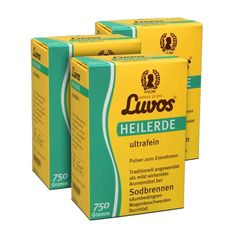 Luvos Ultra Fine Medicinal Clay Triple Pack