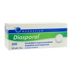 Diasporal Diasporal magnesium 100 purutabletti 50 kpl / 52 g
