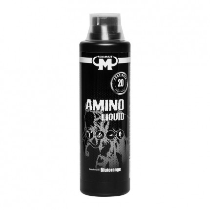Mammut Aminoliquid, Blutorange (500 ml)