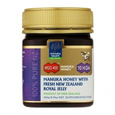 Manuka Health Manukahonig MGO 400 mit Jelly Royal