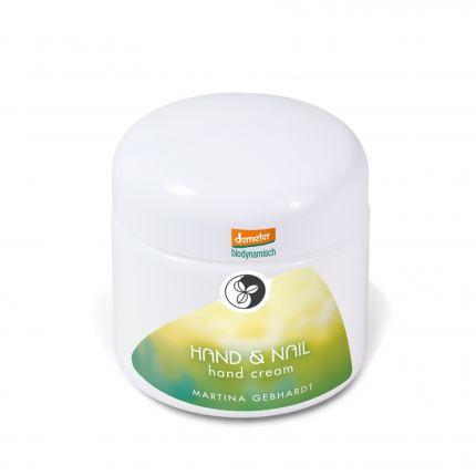 Martina Gebhardt Naturkosmetik Hand & Nail Cream
