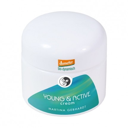 Martina Gebhardt Naturkosmetik YOUNG & ACTIVE Cream