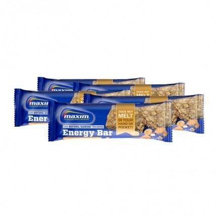 5 x Maxim Energy Bar -energiapatukka, kauramanteli&suolapähkinä