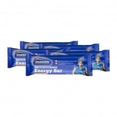 5 x Maxim Energy Bar -energiapatukka, kinuskisuklaa