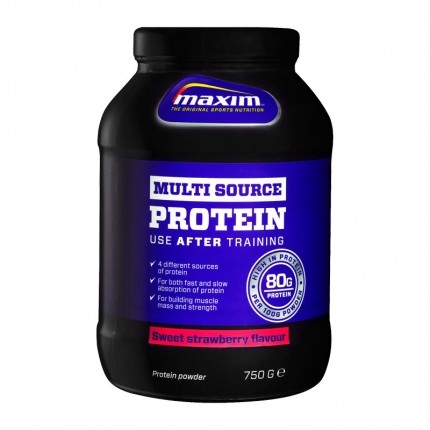 Maxim Strenght Multisource Protein - Sweet Strawberry