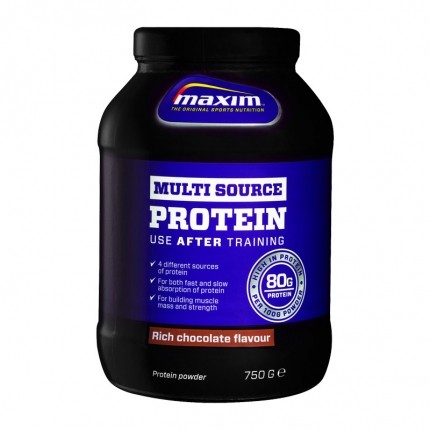 Maxim Strenght Multisource Protein - Rich Chocolate