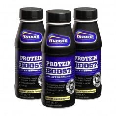 3 x Maxim Strength Protein Boost - proteiinijuoma, vanilja