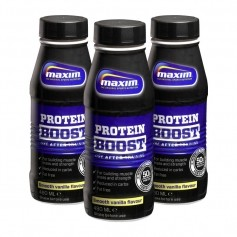 3 x Maxim Strength Protein Boost - Smooth Vanilla