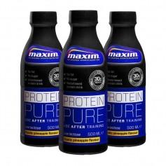 3 x Maxim Strength Protein Pure -juoma, ananas