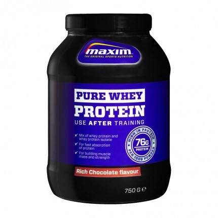 Maxim Strenght Pure Whey Protein - Rich Chocolate