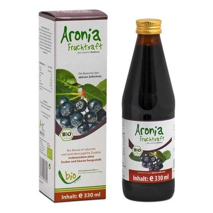 Medicura, Jus de fruits d'aronias bio