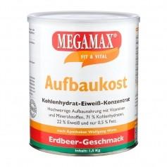 Megamax Aufbaukost Erdbeere, Pulver