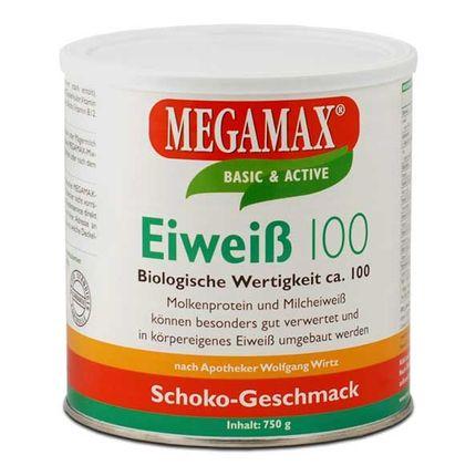 Megamax Eiweiß 100 Schoko, Pulver