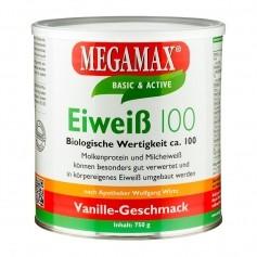 Megamax Eiweiß 100 Vanille, Pulver