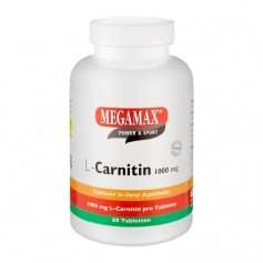 Megamax L-Carnitin 1000 mg, Tabletten