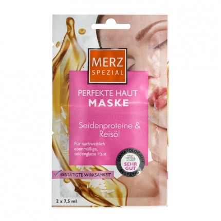 Merz Special Rice Oil & Silk Proteins Skin Polishing Mask