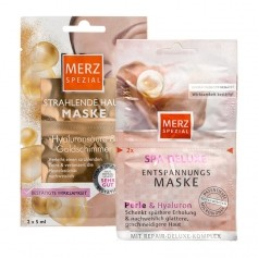 Merz Special Spa Delux Mask Care Set with Gold and Beads
