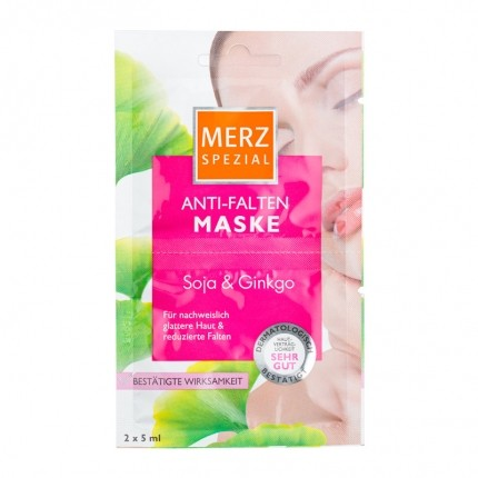 Merz Spezial anti-wrinkle mask with Soy & Ginkgo