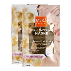 Merz Spezial Spa Deluxe Hautverschönernde Maske Goldschimmer & Hyaluron Doppelpack