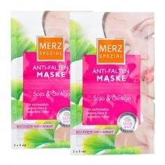 Merz Spezial Anti-Falten Maske mit Soja & Ginkgo Doppelpack