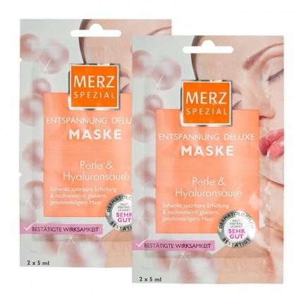 Merz Spezial Spa Deluxe Entspannungs-Maske Doppelpack