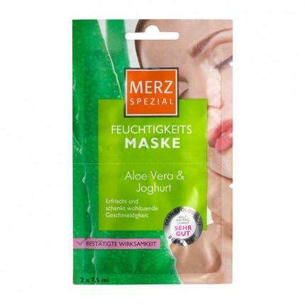 Merz Spezial Feuchtigkeitsmaske mit Aloe Vera & Joghurt Doppelpack