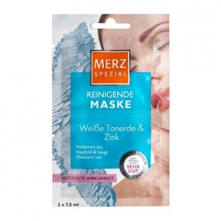 Merz Spezial Reinigende Maske mit weisser Tonerde & Zink